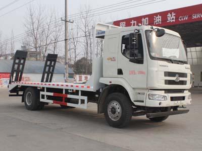 程力威牌CLW5160TPBL5型平板运输车