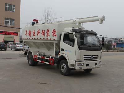 程力威牌CLW5110ZSLE5型散装饲料运输车
