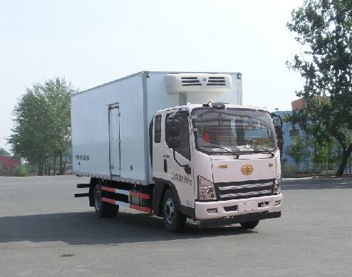 解放牌CA5081XLCP40K2L2E5A84型冷藏车