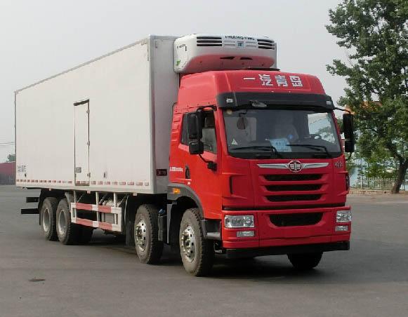 解放牌CA5313XLCP2K2L7T4E5A80型冷藏车