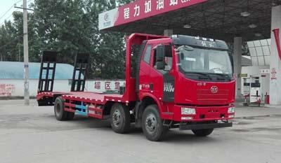 程力威牌CLW5250TPBC5型平板运输车