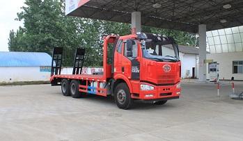 程力威牌CLW5251TPBC5型平板运输车