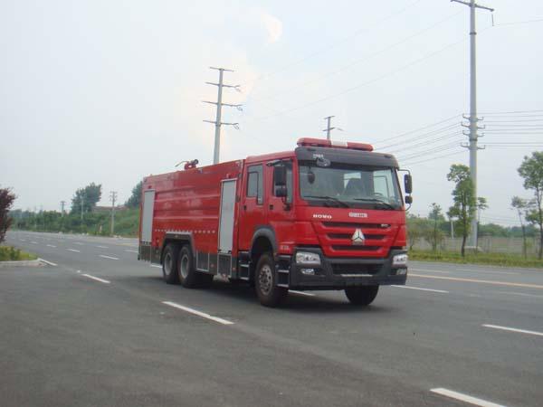 江特牌JDF5314GXFSG160型水罐消防车