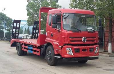 程力威牌CLW5168TPBT5型平板运输车