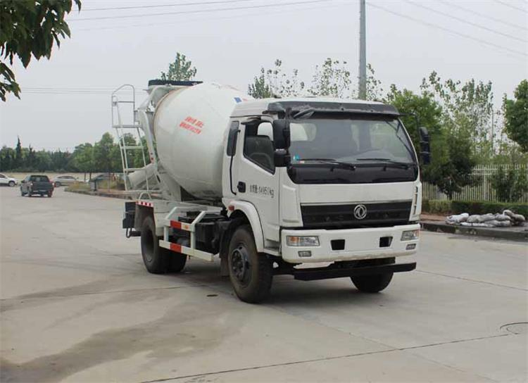 东风牌EQ5140GJBLV型混凝土搅拌运输车