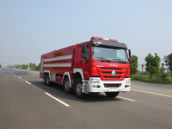 江特牌JDF5410GXFSG240型水罐消防车