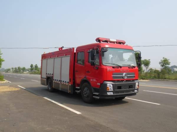 江特牌JDF5154GXFSG60型水罐消防车