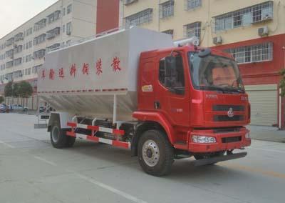 程力威牌CLW5180ZSLL5型散装饲料运输车