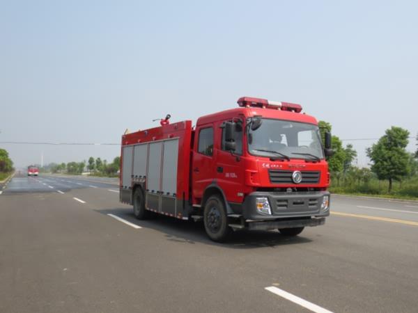 江特牌JDF5150GXFSG60/A型水罐消防车