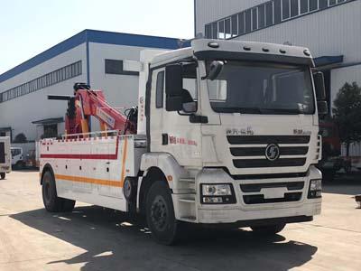 程力威牌CLW5160TQZS5型清障车