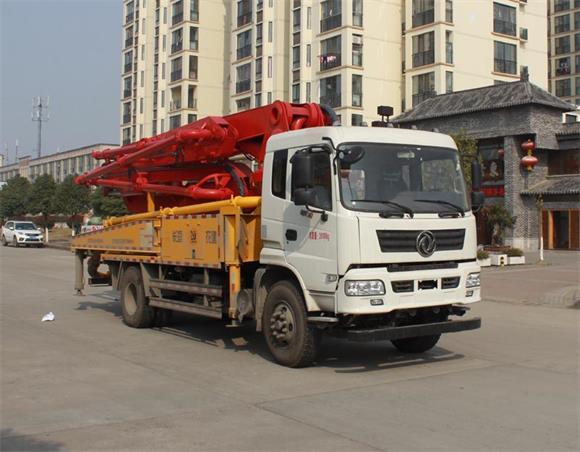 东风牌EQ5200THBLV型混凝土泵车