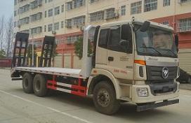 程力威牌CLW5252TPBB5型平板运输车