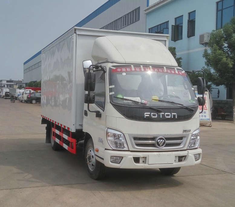 福田牌BJ5049XWT-FB型舞台车