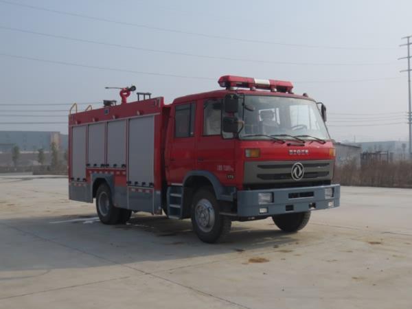 江特牌JDF5140GXFSG50/E型水罐消防车