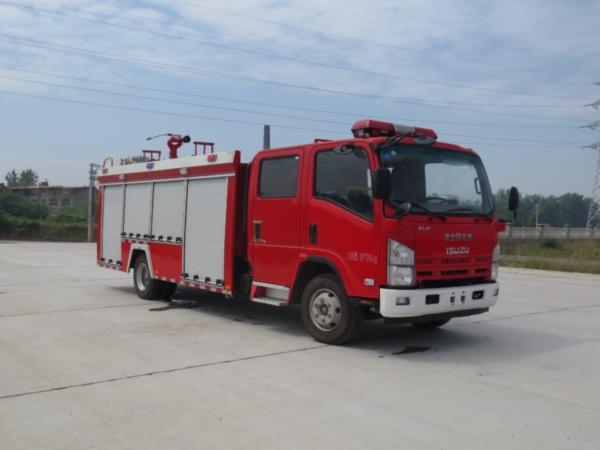 江特牌JDF5100GXFSG30/Q型水罐消防车