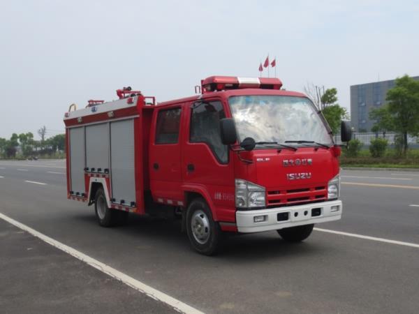 江特牌JDF5071GXFSG20/Q型水罐消防车