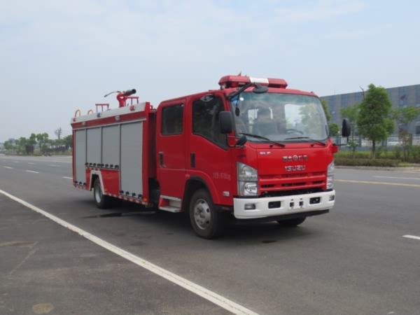 江特牌JDF5100GXFPM30/Q型泡沫消防车