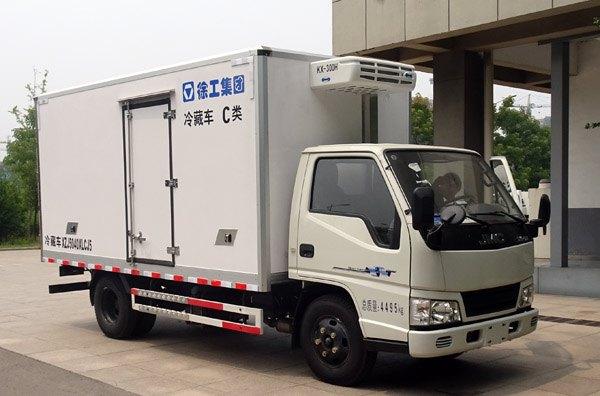徐工牌XZJ5040XLCJ5型冷藏车