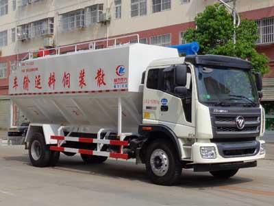 程力威牌CLW5161ZSLB5型散装饲料运输车