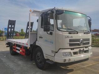 程力威牌CLW5126TPBD5型平板运输车