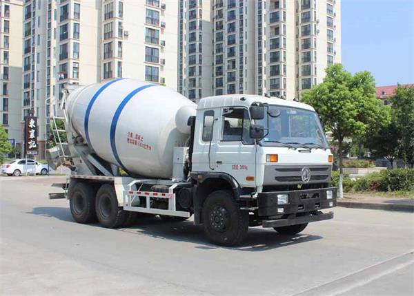 东风牌EQ5240GJBLV型混凝土搅拌运输车