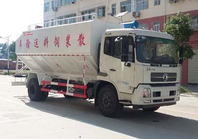 程力威牌CLW5181ZSLD5型散装饲料运输车