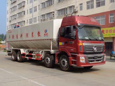 程力威牌CLW5310ZSLB5型散装饲料运输车