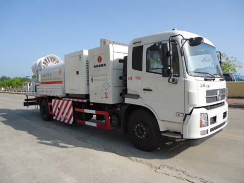 东风牌EQ5180TDY5N1型多功能抑尘车