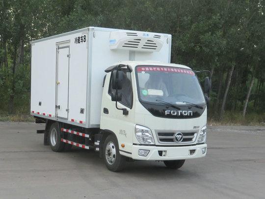 福田牌BJ5041XLC-FH型冷藏车