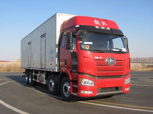 解放牌CA5320XLCP66K1L7T4E5型冷藏车