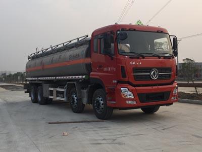 程力威牌CLW5310GYYLD5型铝合金运油车