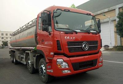 程力威牌CLW5320GYYLD5型铝合金运油车