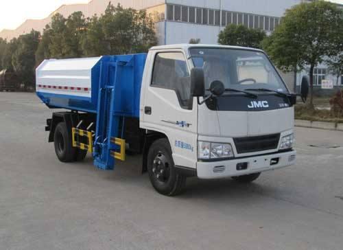 江铃挂桶式垃圾车