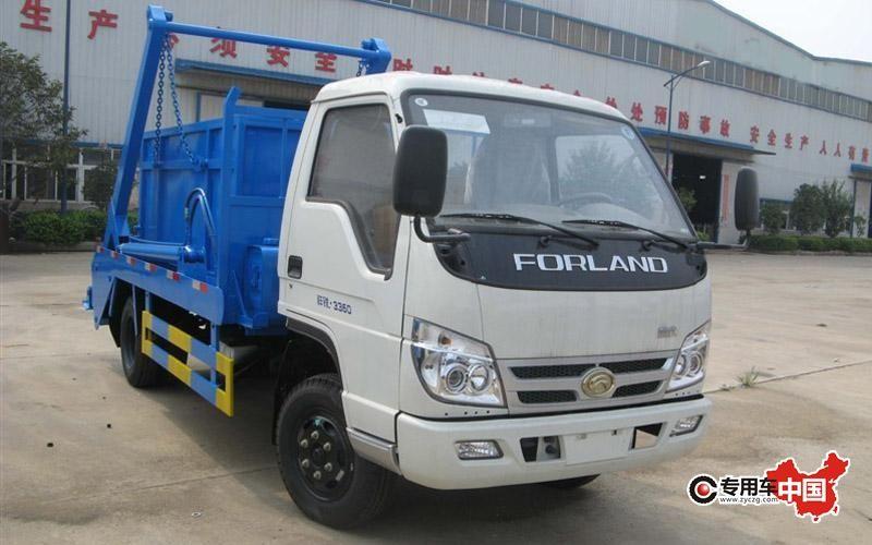 福田摆臂式垃圾车