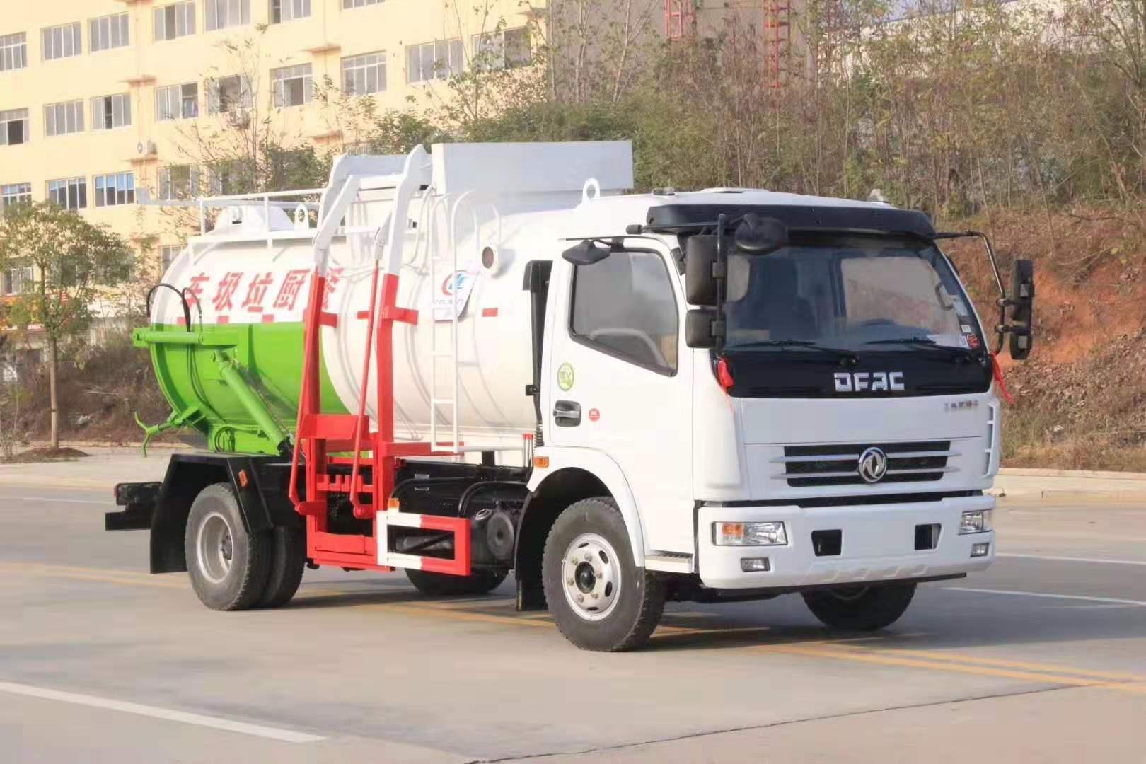 东风D7多利卡6-8立方餐厨垃圾车