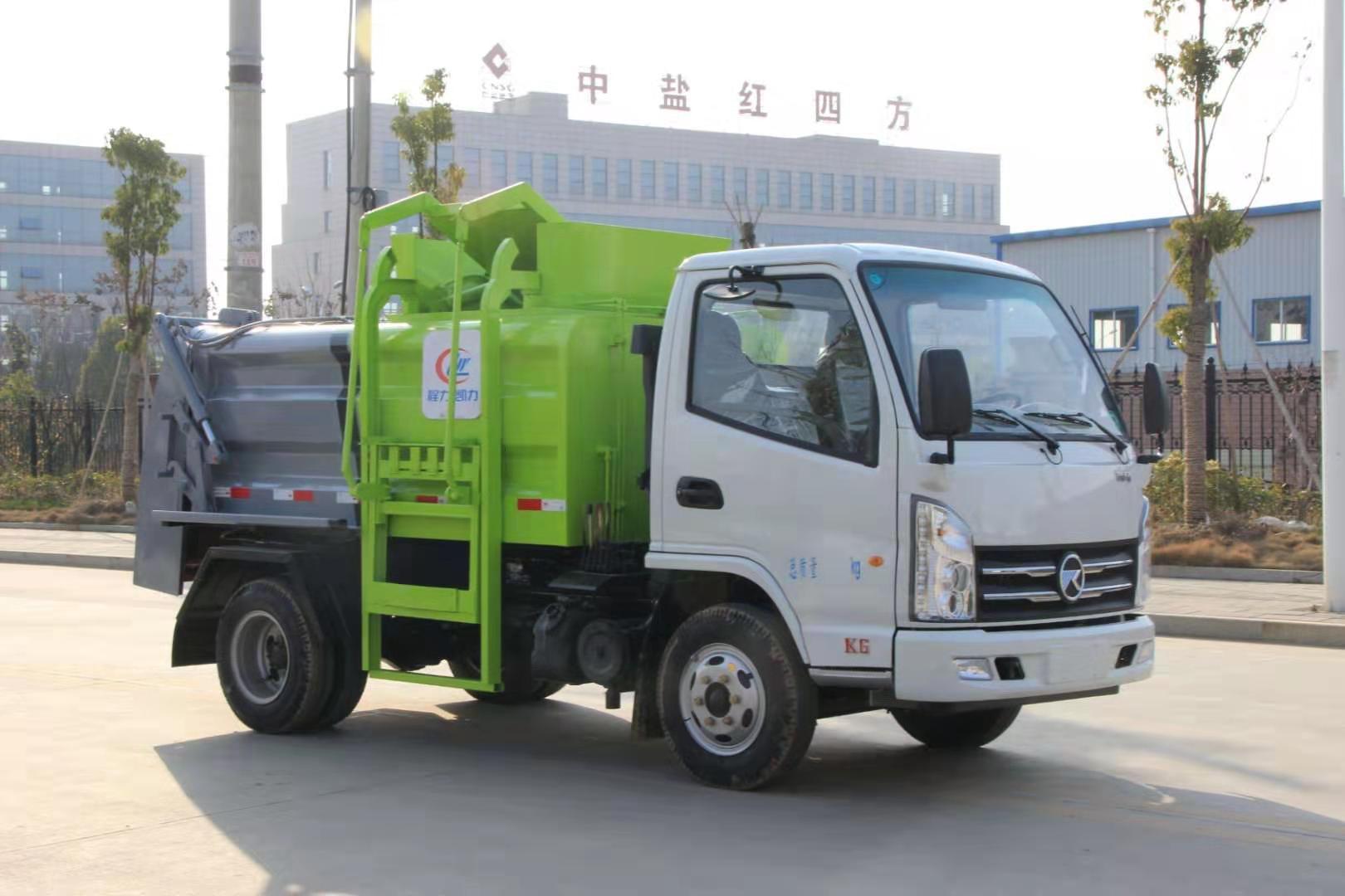 凯马蓝牌3立方餐车垃圾车